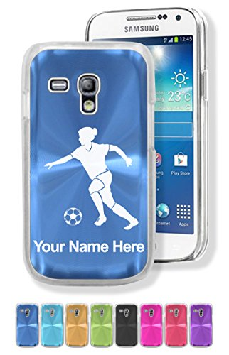 Samsung Galaxy S3 Mini Case/Cover - WOMAN SOCCER PLAYER - Personalized for (Soccer Galaxy S3 Case)