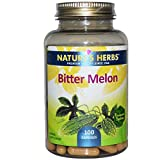 Nature's Herbs Nature's Herbs, Bitter Melon, 100 Capsules - 100 Caps