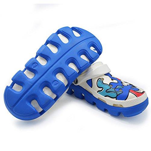 Unisex Adulto Ragazzi Ragazze Ragazzi Camo Serie Sandalo Giardino Spiaggia Doccia Eva Pantofole Pantofole Blu Navy