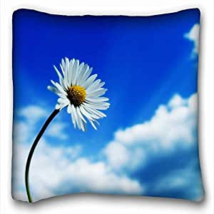 """Soft Pillow Case Cover Nature DIY Pillow Cover Size 16""""X16"""" suitable for Full-bed"""