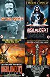 Highlander Complete Movie Anthology All Film [4 Discs] DVD Collection Boxset: Part 1, 2: Quickening , 3: Sorcerer , 4: End Game + Extras by Adrian Paul