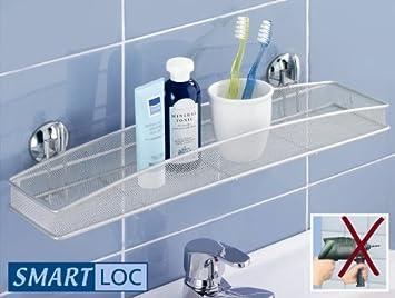 wenko smart-loc badregal palermo maxi - ohne bohren - 52 x 12 x 6 ... - Badezimmer Regal Ohne Bohren
