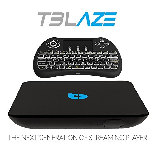 Tblaze Android TV Box Amlogic S912 Octa-core CPU 64-Bit 4K/3D/2GB/16GB AC Wireless Dual Band WiFi 2.4GHz/5GHz Ready To Stream Media Center,Keyboard Remote,Updated Version Realtime Firmware Updates by Tblaze (Image #3)
