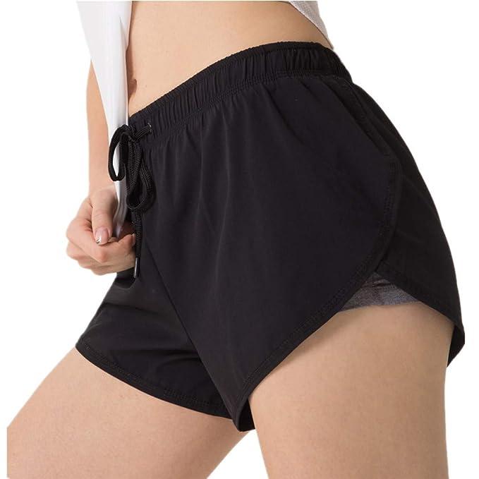 4c5b978df8cc85 Juqilu Damen Sportshorts Hotpants Sweat-Shorts Fitness Gym Strand Workout  Yoga Sexy Kurze Hosen Trainingshose