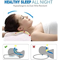 Noctura Noctura Natural Back Shoulder Support Relief Pain Bed Pillow