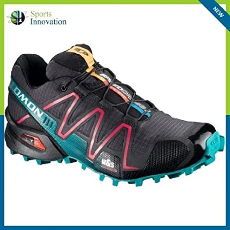 Salomon Speedcross 3 Zapatillas de trail running – UK 7,5 – negro/rosa -: Amazon.es: Deportes y aire libre