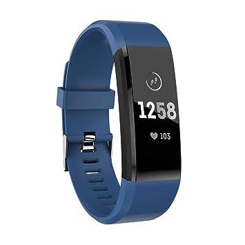 ATETION Pulsera de Actividad Inteligente, Impermeable Reloj ...