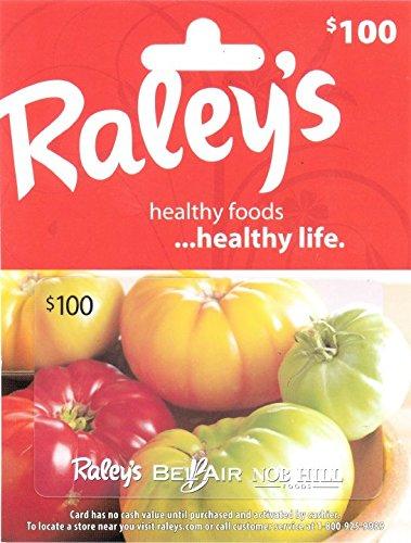 Nob Hill - Raley's $100 Gift Card