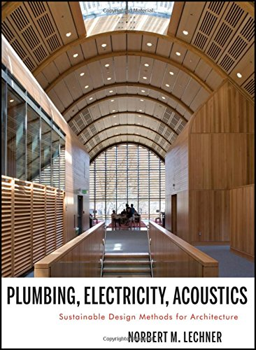 Plumbing, Electricity, Acoustics: Sustainable Design Methods for Architecture by Wiley