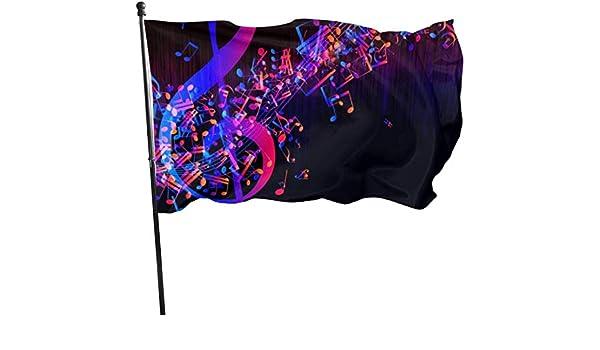 N/A Bandera de la Guardia Americana, Banderas para el hogar, Galaxia, Patio Delantero, más Grueso, para decoración de Fiestas al Aire Libre de Temporada, 3 x 5 pies: Amazon.es: Jardín