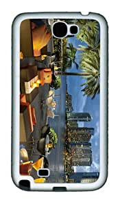 the best cases cafe sambal miami TPU White case/cover for samsung galaxy N7100/2