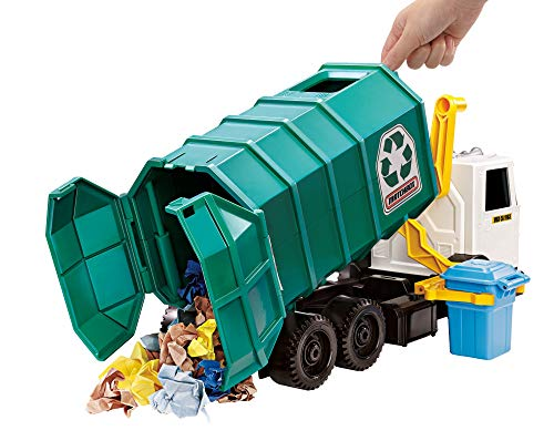 51qaDAA11oL - Matchbox Garbage Truck Large [Amazon Exclusive]