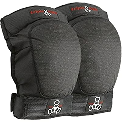 Triple Eight D-Tec Knee Pad [Large] Black : Sportinggoods : Sports & Outdoors