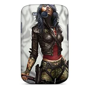New Arrival Case Cover With Design For Galaxy S3- Rubi Malone