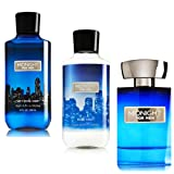 BATH AND BODY WORKS,MIDNIGHT FOR MEN GIFT SET ,LOTION,BODY WASH,COLOGNE SPRAY..