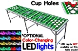 PartyPongTables PPT-082220212 Football Field with Cup Holes