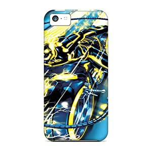 Iphone 5c Hard Case With Awesome Look - HsD9387kstn
