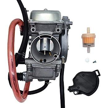wiring amazon com: new carburetor carb for kawasaki kvf400 prairie 400  1998 on yamaha big