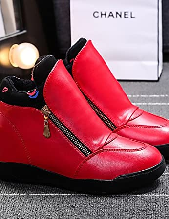 ZQ gyht Zapatos de mujer - Tacón Cuña - Cuñas / Plataforma / Creepers - Sneakers a la Moda / Mocasines - Exterior / Oficina y Trabajo / Deporte - ...