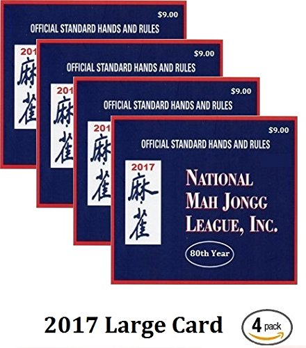 picture about Mahjong Card Printable titled Get Nationwide Mah Jongg League 2015 Scorecard - Substantial Print