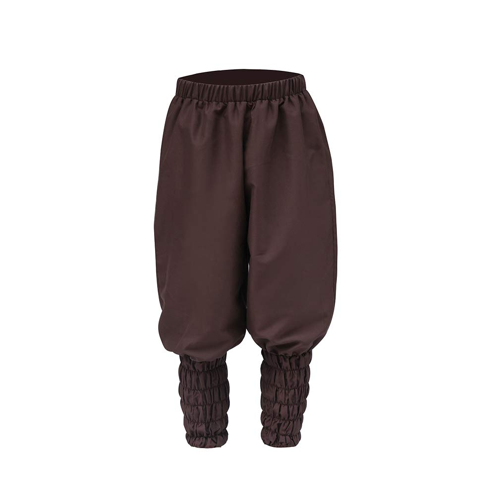 ROLECOS Medieval Pirate Renaissance Cosplay Costume Captain Gothic Pants