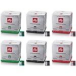 16 Capsule Uno Capsule System Illy Espresso Scura Arabica Originali - 6 confezioni da 16 Capsule [96 Capsule]