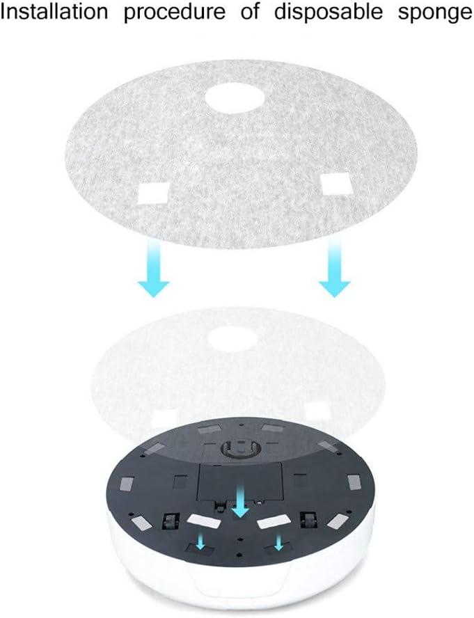 Accueil Batterie interne Aspirateur automatique pour aspirateur robot robot balayeuse (blanc) Blanc