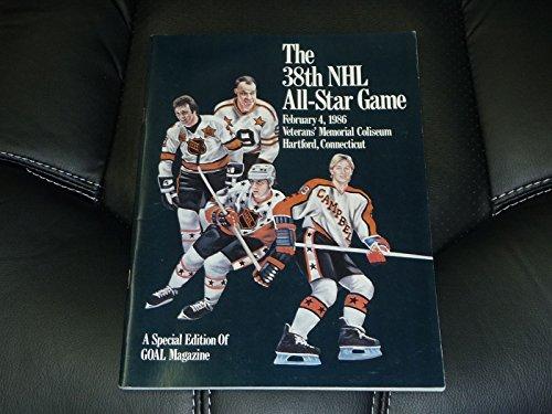 1986 Star Game All Nhl (1986 NHL HOCKEY ALL STAR GAME PROGRAM HARTFORD NEAR MINT GRETZKY COVER)