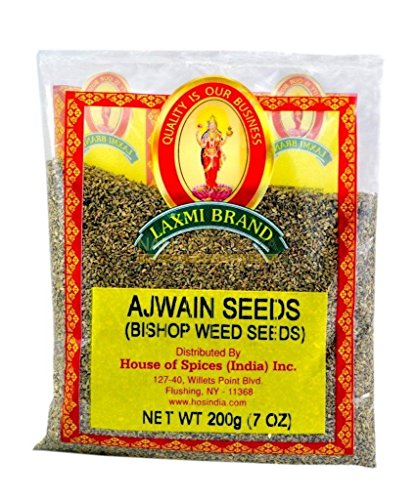 Laxmi All-Natural Ajwan Seed (Caraway Seeds) - Case Pack (20, 7oz Packets) by Laxmi
