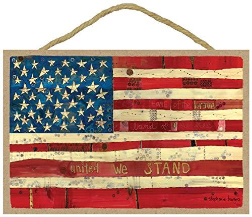 (SJT ENTERPRISES, INC. American Flag, United We Stand 7