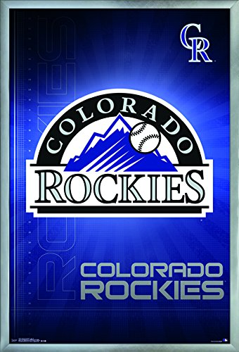 Trends International Colorado Rockies-Logo Wall Poster, 24.25
