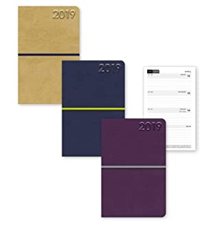 Signature Collection 2019 - Agenda de bolsillo, diseño de topo de peluche, varios colores, 1 agenda al azar