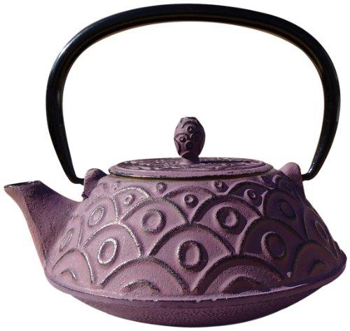 Greek Wine Cast Iron Kyoto Teapot 26 Oz