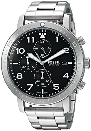 Fossil-Mens-CH3082-The-Major-Chronograph-Timer-Stainless-Steel-Watch