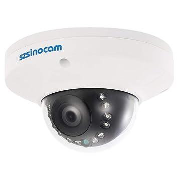 szsinocam 1080P 2.0MP POE P2P Onvif Dome IP Camera CCTV Waterproof Night Vision