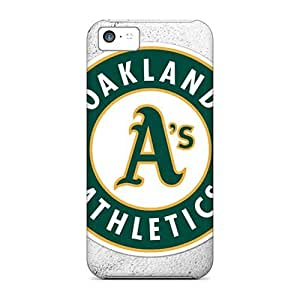 Anti-scratch And Shatterproof Oakland Athletics Phone Cases For Iphone 5c/ High Quality Tpu Cases
