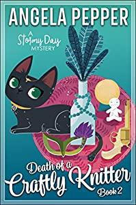 Death Of A Crafty Knitter by Angela Pepper ebook deal
