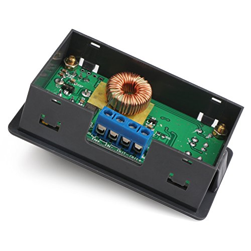 Constant Current Buck Converter, DROK Numerical Control Voltage Regulator DC-DC 4.5-23V 12v to 0-20V 9v 5v 2A Step Down Transformer Module Volt Stabilized Power Supply Board with LCD Display by DROK (Image #4)