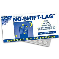 Miers Labs No Shift Lag Homeopathic Shift Fatigue Remedy, 32 Count