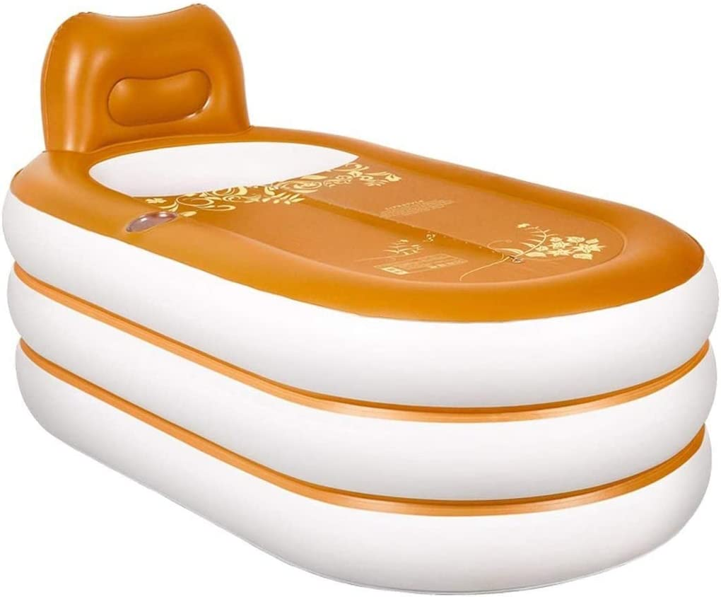 QIYUE Adulto Inflable Bañera Moda SPA Adulto Inflable Bañera