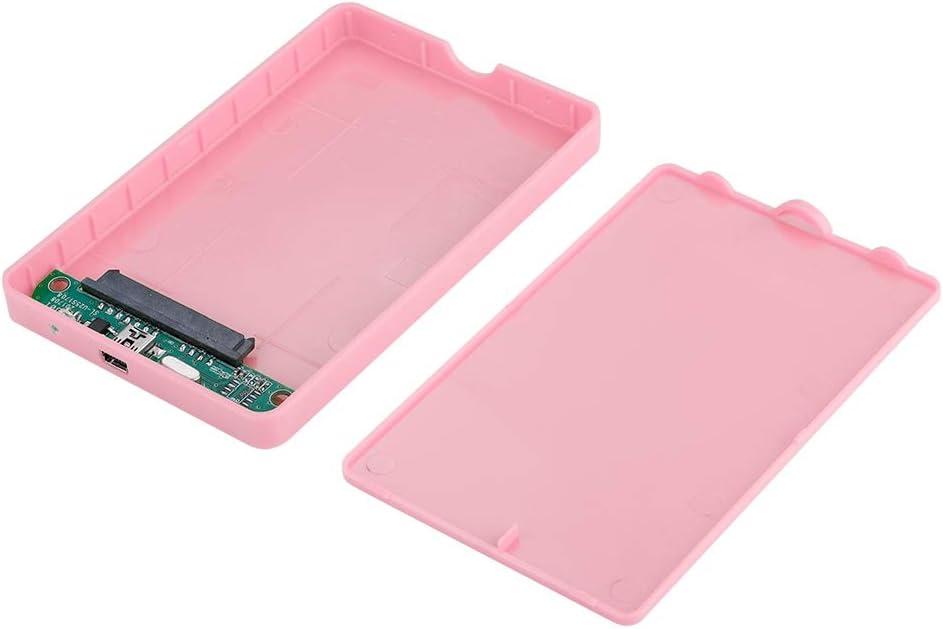 ASHATA Carcasa Disco Duro SSD/SATA USB 2.0/1.1(480Mbps), Caja ...