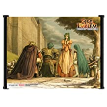 Fire Emblem Path of Radiance Game Fabric Wall Scroll Poster (21x16) Inches