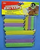 Stay/Keep Fresh Bag Clips 12/Pk (Assorted Sizes) (BC0077)