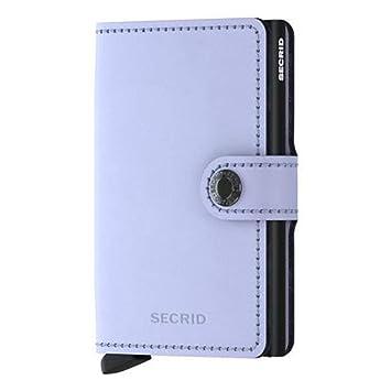 b28a1dfb2ab9 Secrid Miniwallet Matte Lilac-Black RFID Cardholder Wallet