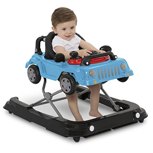 Jeep Classic Wrangler 3 In 1 Activity Walker Blue Berry
