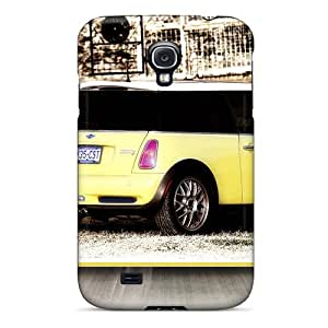 Galaxy S4 VQt2417MyHj 2003 Mini Cooper S Wide Screen Tpu Silicone Gel Case Cover. Fits Galaxy S4
