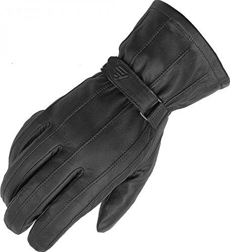 Fieldsheer Rider Mens Leather Street Racing Motorcycle Gloves Medium Black