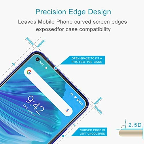 No Retail Package Clear 50 PCS for Sony Xperia E5 0.26mm 9H Surface Hardness 2.5D Explosion-Proof Tempered Glass Screen Film YINZHI Screen Protector Film