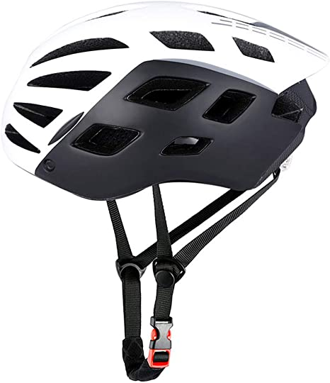 UP-bike Casco de Bicicleta con Luz de Seguridad, Ciclismo ...