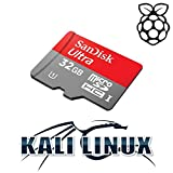 Kali Linux 2017.3 32GB Micro SD Card for Raspberry Pi 2 and 3
